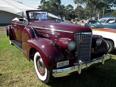 1938 Cadillac V-16 Series 90 Convertible